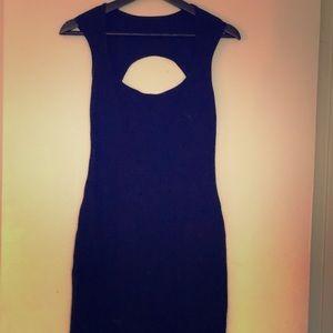 American Apparel black mini dress